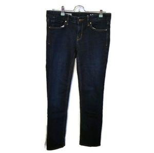 NWOT GAP Straight Leg Dark Wash Jeans Soze 28